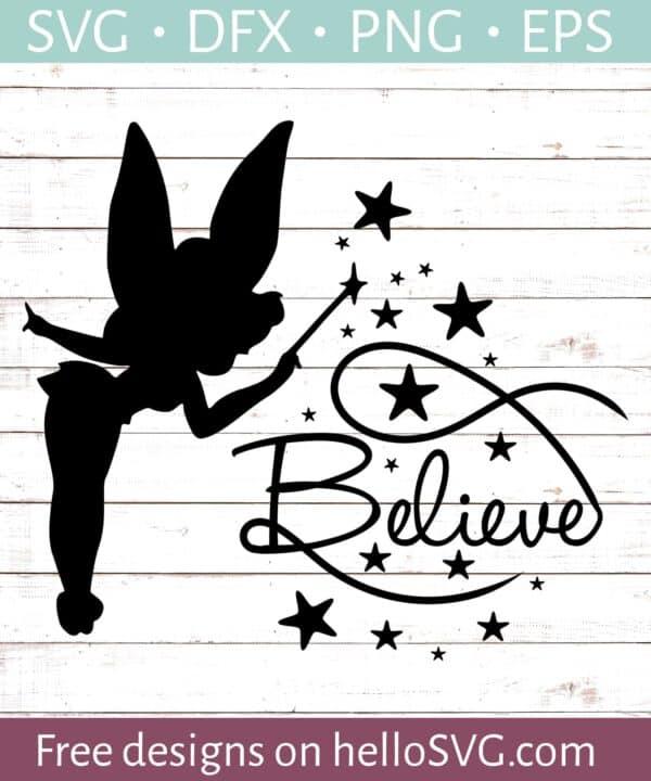 Tinkerbell Believe #1