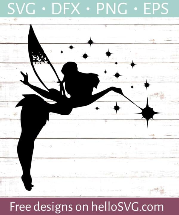 Tinkerbell Silhouette #3