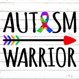 Autism Warrior w/ Arrow