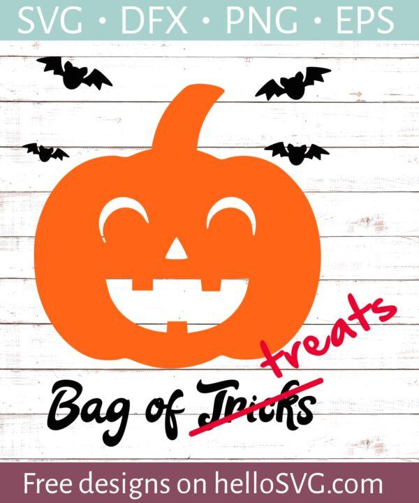 Pumpkin - Trick Or Treat Bag