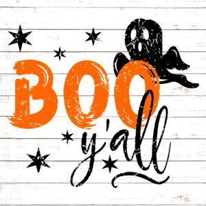 Boo Ya'll - Distressed