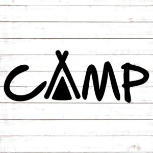 CAMP with tent
