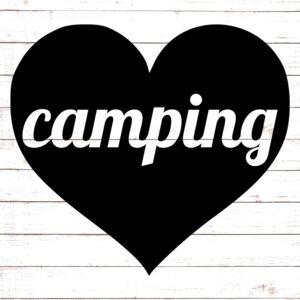 Camping Heart