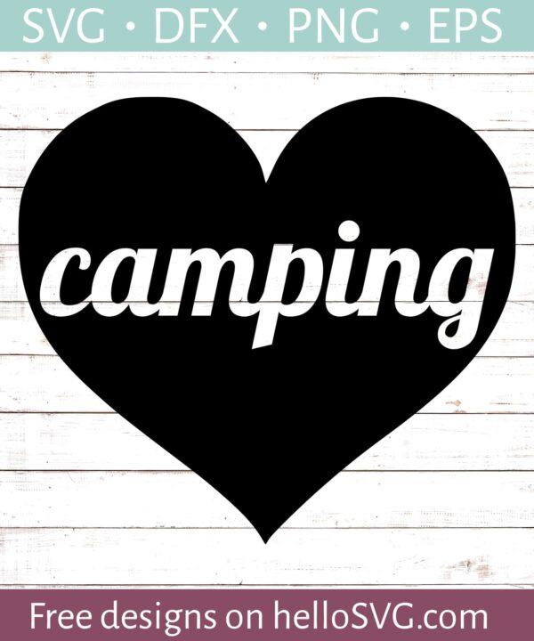 Camping Heart