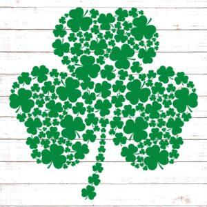 St Patrick S Day Clover Svg Free Svg Files Hellosvg Com