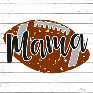 Football Mama - Distressed