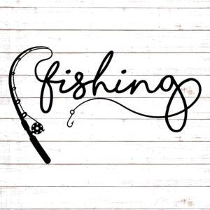 Fishing  Rod SVG