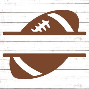 Football Split Monogram