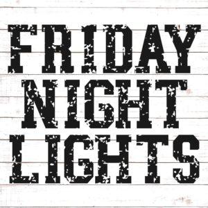 Friday Night Lights SVG