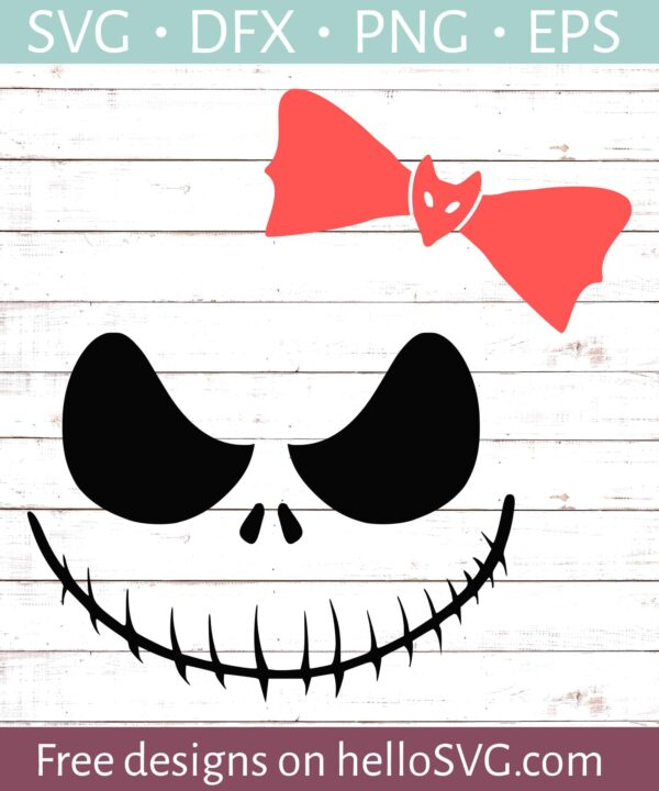 Nightmare Ghoul Smiling with Bow