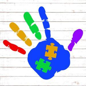 Autism Handprint