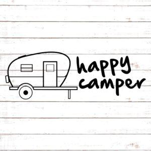Happy Camper SVG #1