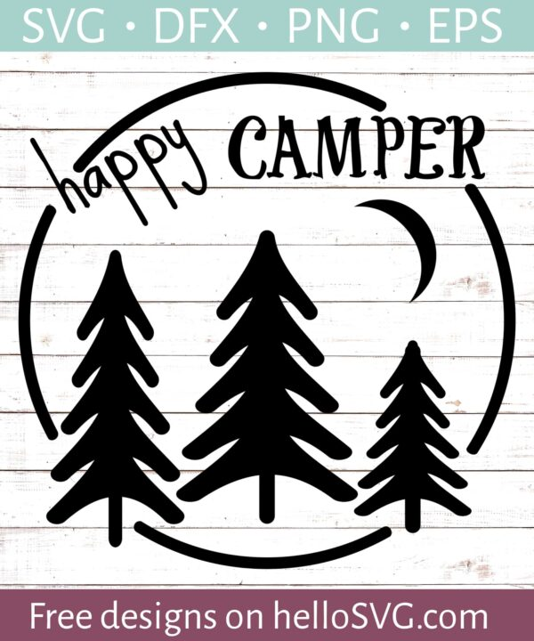 Happy Camper SVG #2