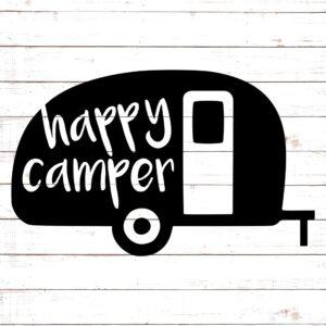 Happy Camper SVG #4