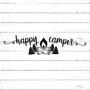 Happy Camper SVG #6