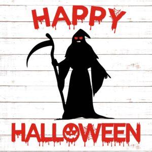 Grim Reaper Happy Halloween #1