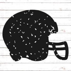 Football Helmet - Distressed
