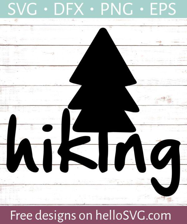 Hiking with Pine Tree