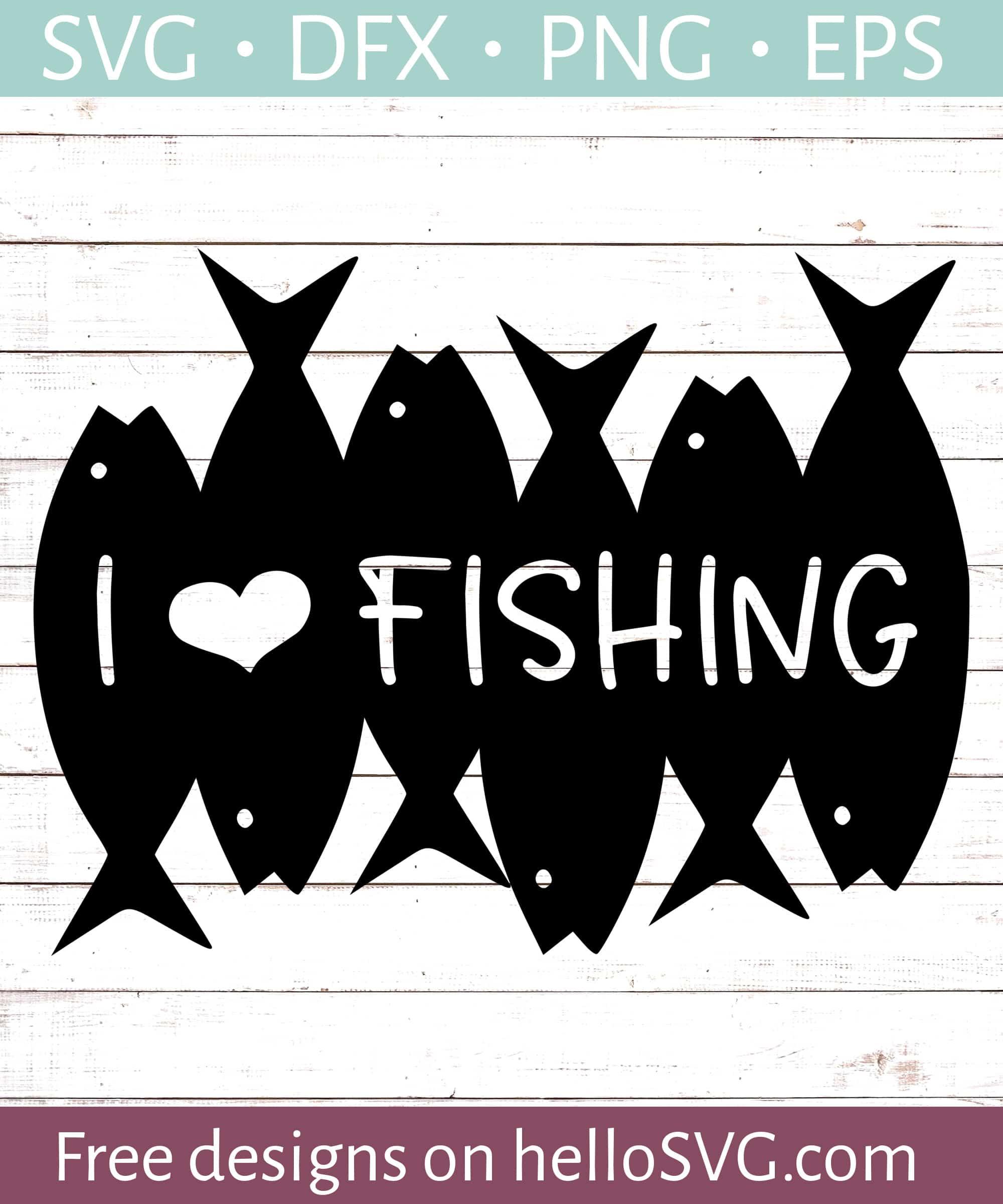 e860c8e53 I Love Fishing #2 SVG - Free SVG files | HelloSVG.com
