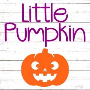 Little Pumpkin Halloween