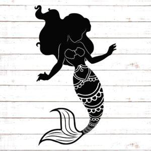Mermaid Silhouette #4