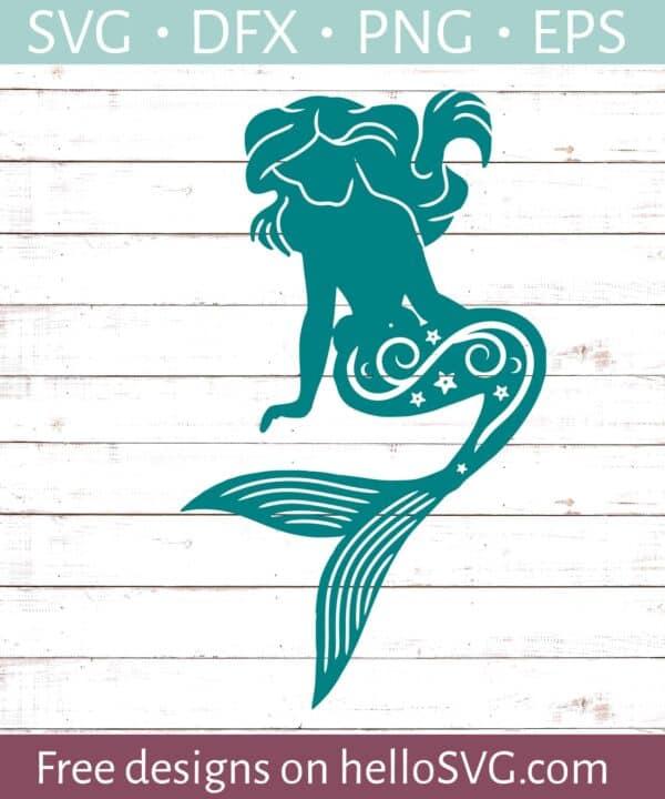 Mermaid Silhouette #3