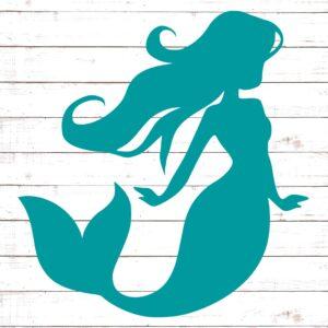 Mermaid Silhouette #1