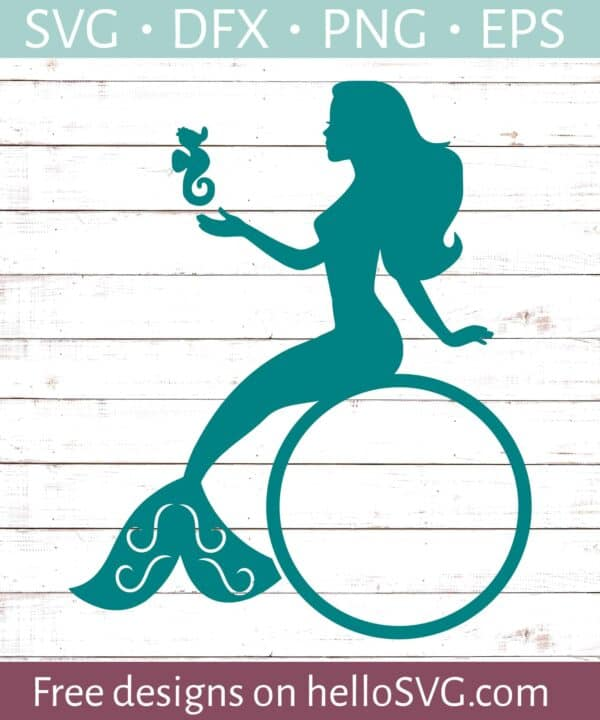 Mermaid Monogram #2