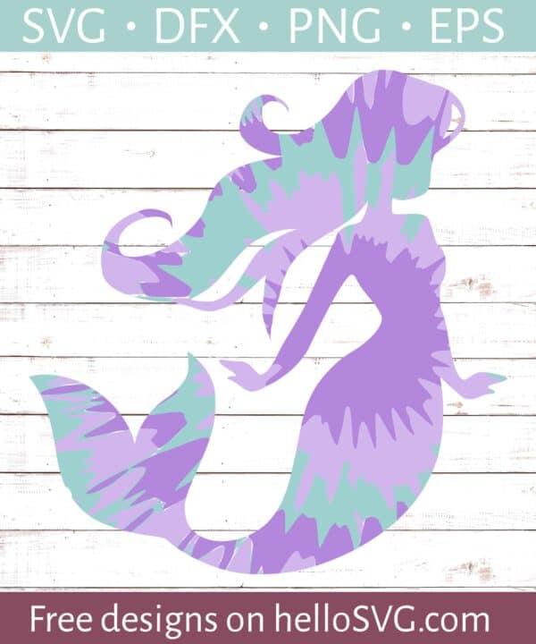 Tie Die Mermaid