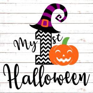 My First Halloween Chevron