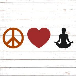 Peace Love Yoga #1