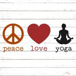 Peace Love Yoga #2