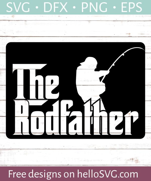 The Rodfather SVG