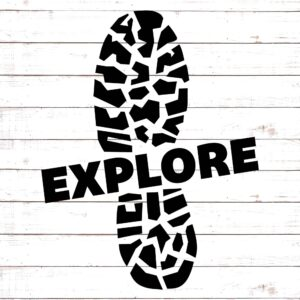 EXPLORE with Hiking Boot