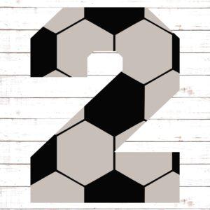 Soccer Font No. 2