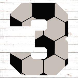 Soccer Font No. 3