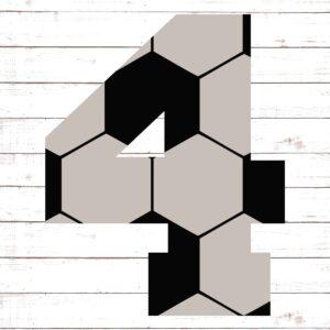 Soccer Font No. 4