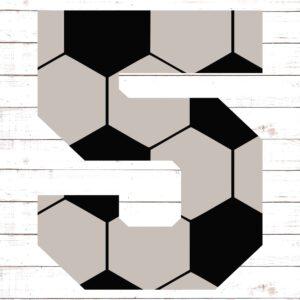 Soccer Font No. 5