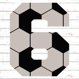 Soccer Font No. 6