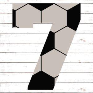 Soccer Font No. 7