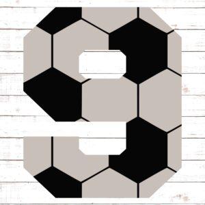 Soccer Font No. 9