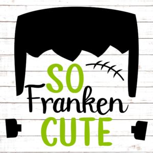 So Frankencute For Boys
