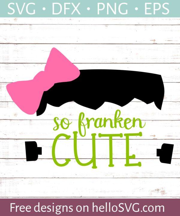 So Frankencute For Girls