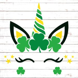 St Patricks Day Unicorn