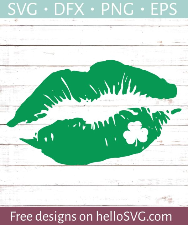 St Patricks Day Lips