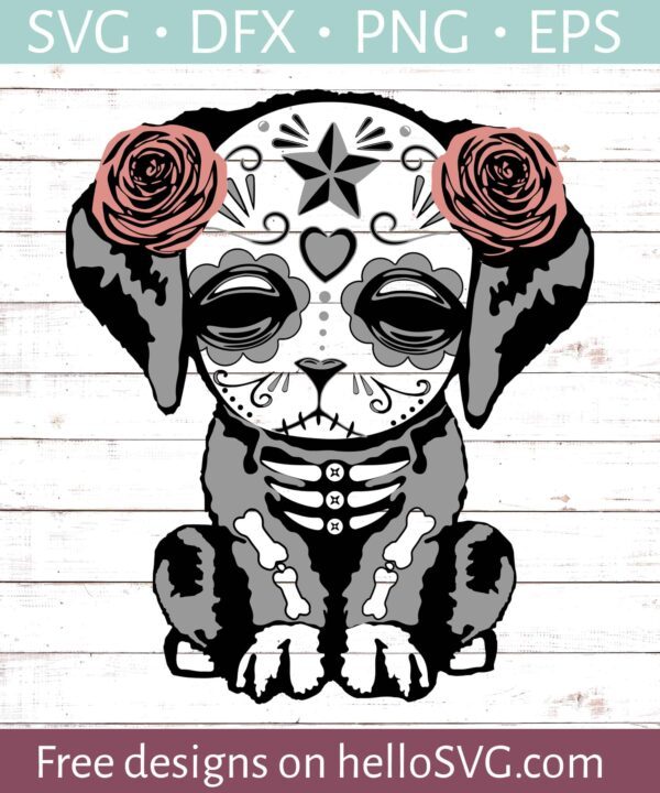 Sugar Skull Dog #2