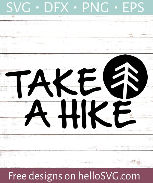 Take a Hike SVG