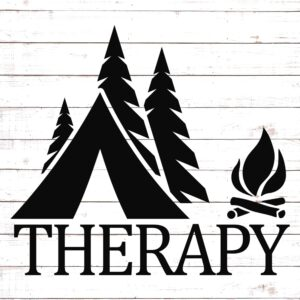 Camping Therapy SVG