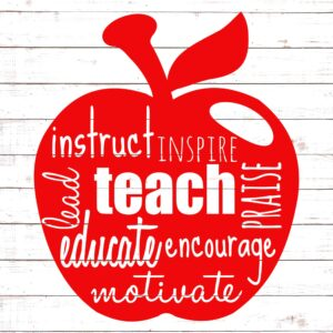 Teacher Inspire Apple