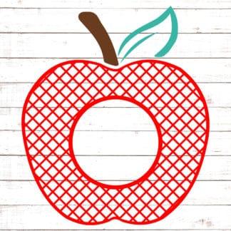 Lattice Apple Monogram